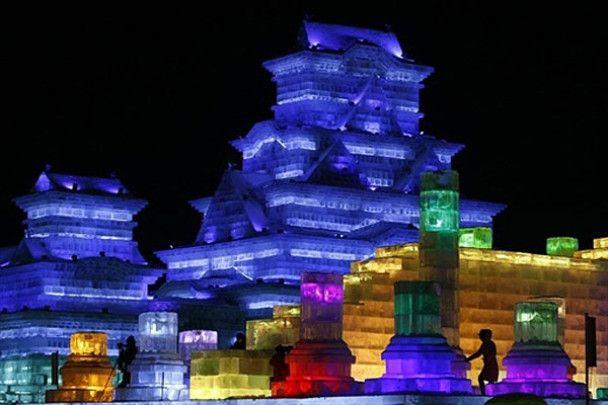 Льодова феєрія у Китаї