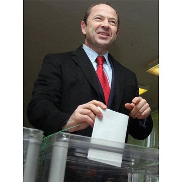 Як голосували кандидати в президенти