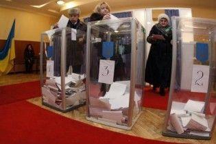 Станом на 15:00 на виборах проголосувала майже половина українців