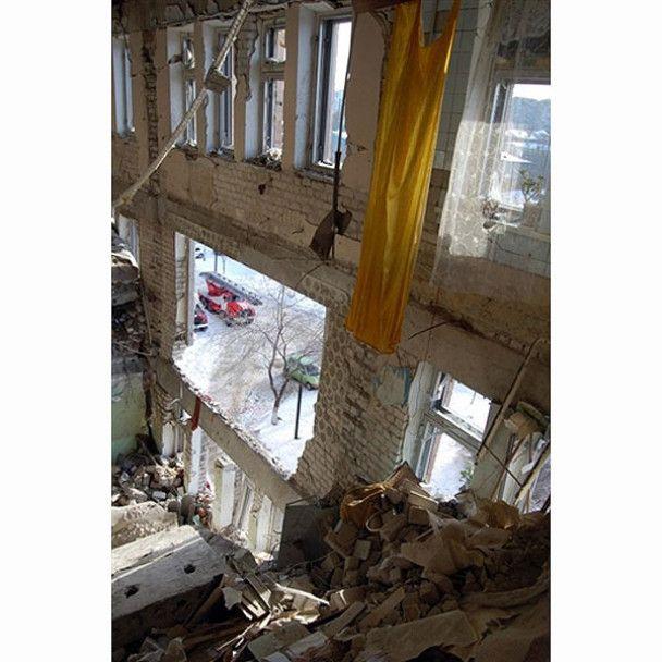 Вибух у лікарні в Луганську