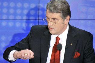 Ющенко: після виборів президента неминучі перевибори Ради