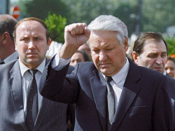 Єльцин та Коржаков