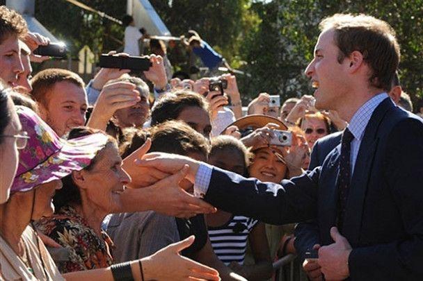 Принц зустрівся з аборигенами Австралії