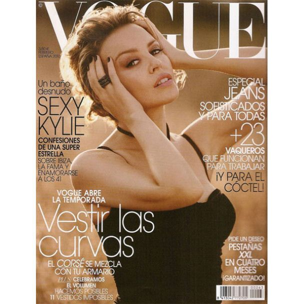 Кайлі Міноуг роздяглась для Vogue