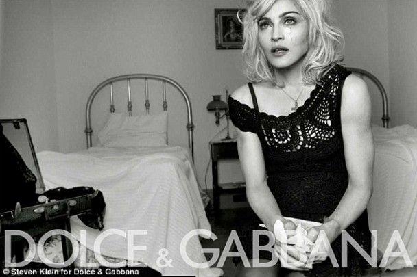 Мадонна розплакалась через Dolce&Gabbanа