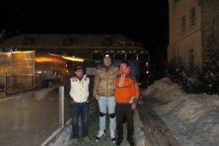Саакашвілі приїхав до Естонії зі своїми ковзанами