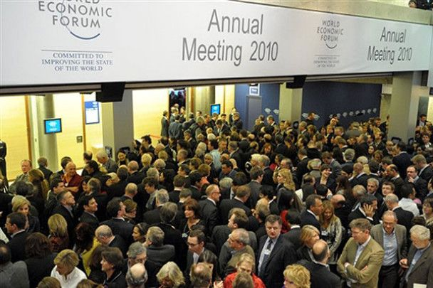Ювілейний економічний форум у Давосі