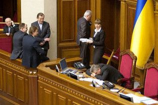 Депутат від НУ-НС відкликала свій голос від закону про вибори