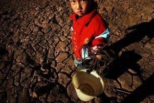 Мільйони китайців потерпають від найсильнішої за півстоліття посухи