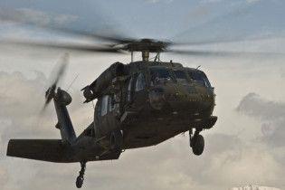 У Німеччині розбився американський військовий вертоліт