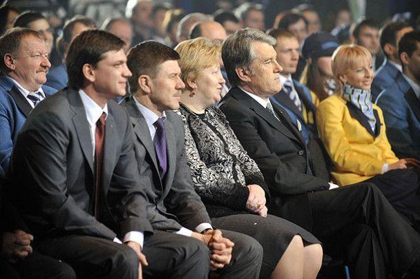 Ющенко провів олімпійців у Ванкувер