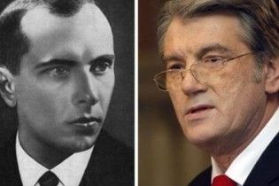 Ющенко написав главі Європарламенту листа на захист Бандери