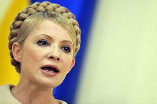 Тимошенко розповіла про свій найперший крок на посаді президента