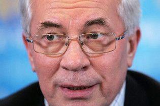 Азаров нагрубив журналістці, яка запитала його про прем'єрство