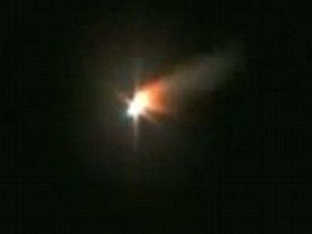 Над Ірландією вибухнув астероїд