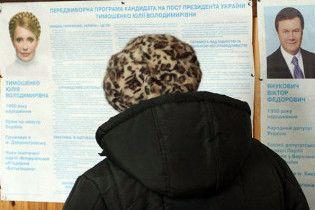 У закордонному виборчому окрузі лідирує Янукович
