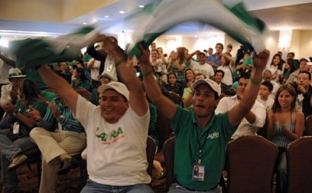 Вперше в історії Коста-Ріки президентом стала жінка