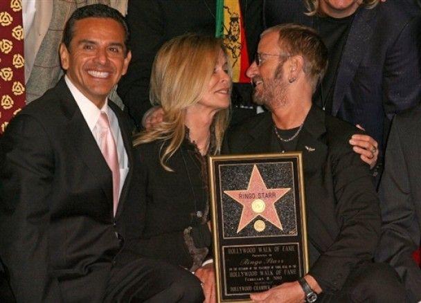 Рінго Старр отримав зірку на Алеї слави в Голлівуді