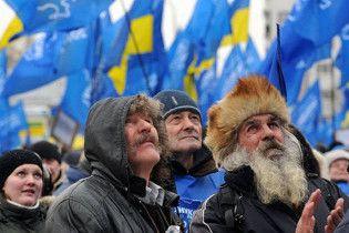Партія регіонів привезла до Києва 54 автобуси своїх прихильників