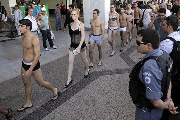 У Бразилії відзначили День білизни