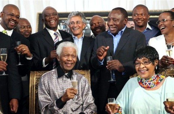 20-річчя звільнення Нельсона Мандели