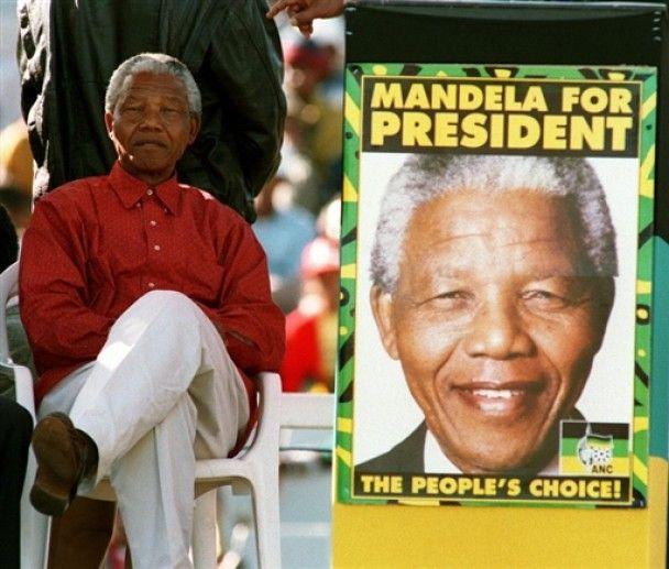 ПАР святкує 20-річчя звільнення Нельсона Мандели