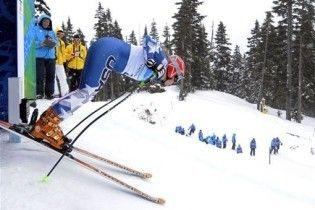 На Олімпіаді-2010 трапився перший випадок травматизму