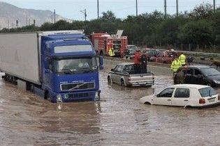На півночі Греції оголошено надзвичайний стан через повені