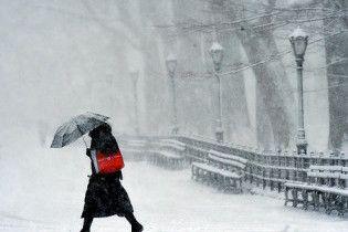 Погода в Україні на понеділок, 24 січня