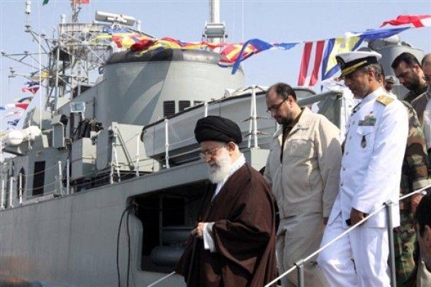 Іран спустив на воду свій перший есмінець