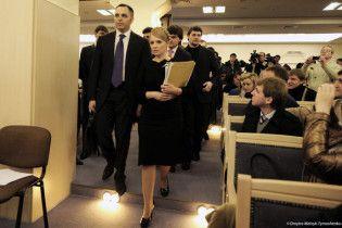 Тимошенко пішла з Вищого адмінсуду через чорний хід