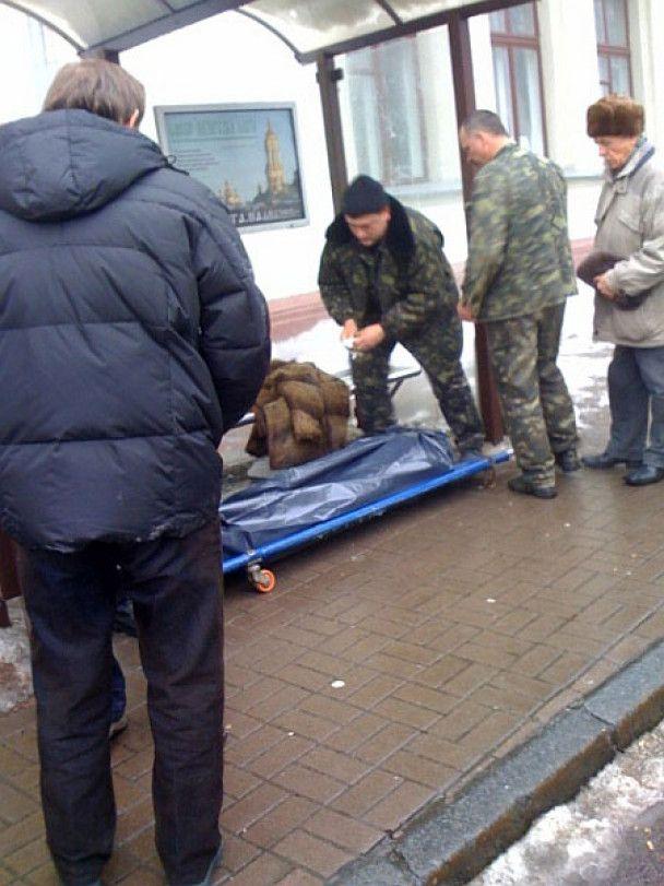 У центрі Києва бурулька вбила жінку