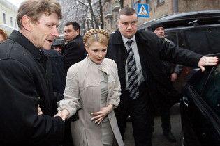 Тимошенко візьме участь в ранковому засіданні фракції БЮТ