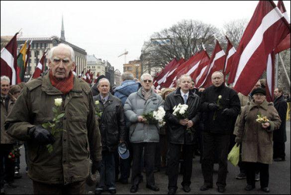 День пам`яті легіонерів СС у Латвії