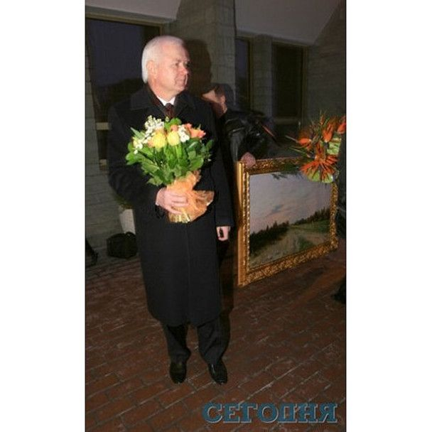 Віктор Ющенко відгуляв день народження