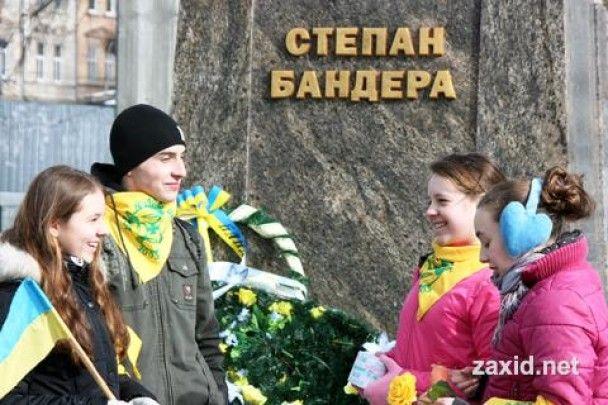 """У Львові стартувала акція """"Нарешті герой"""", присвячена Бандері"""