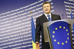 Янукович: Україна співпрацюватиме з НАТО, але без вступу