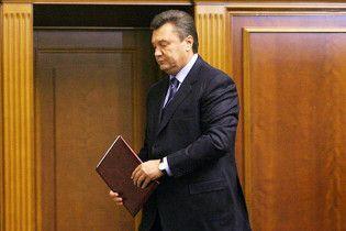 Янукович скасував прощальний указ Ющенка про призначення Черновецького