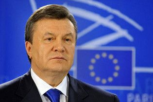 Янукович: через рік Україна матиме безвізовий режим з ЄС
