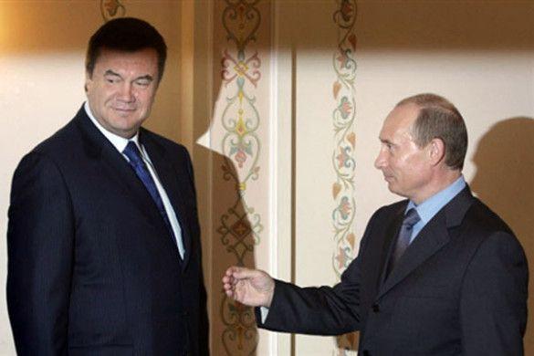 Віктор Янукович, Володимир Путін