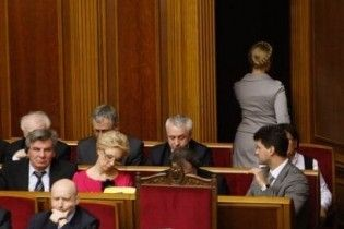 За відставку Тимошенко проголосували семеро бютівців