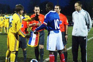 Українські футболісті зіграли внічию з французами