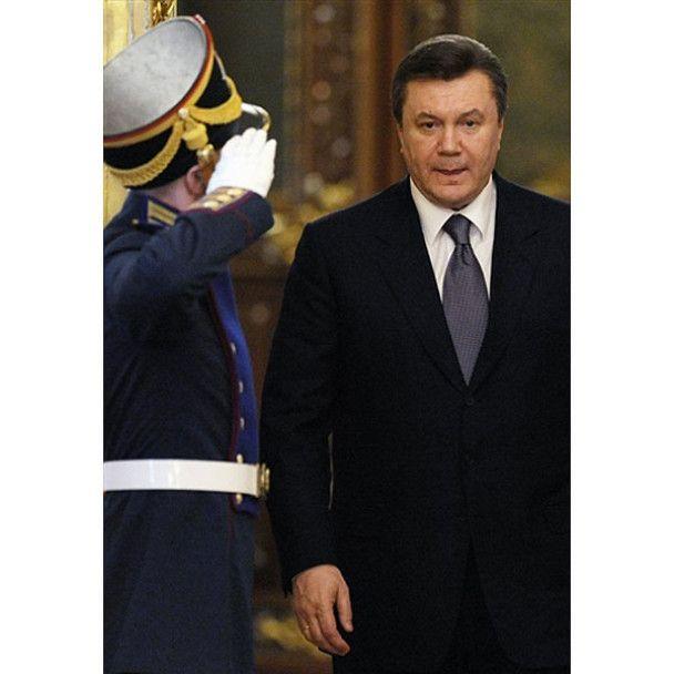 Перший візит Януковича до Москви