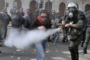 У Греції анархісти закидали поліцію камінням