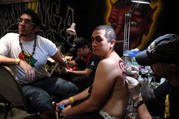 Тілесні справи: тату-шоу в Аргентині