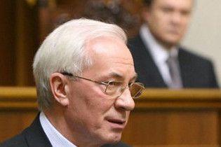 Азаров щопонеділка доповідатиме Януковичу про роботу уряду