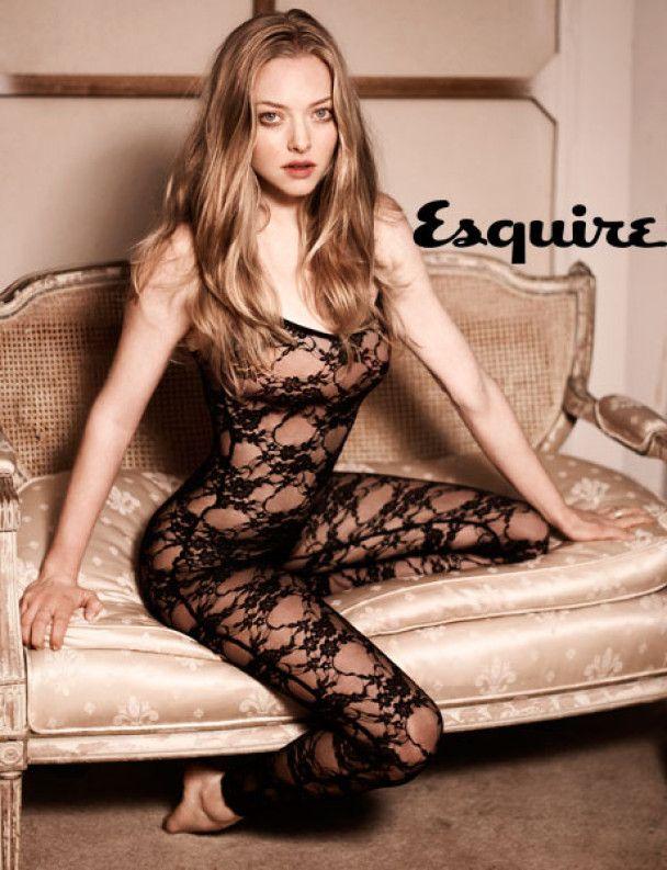 Аманда Сейфрід у пікантній фотосесії для Esquire