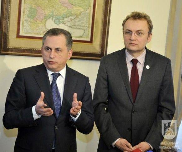 Борис Колесніков та Андрій Садовий