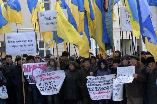 Освітяни почнуть масові акції протесту у Києві за відставку Табачника