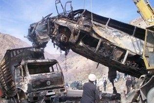 35 людей загинули в ДТП в Афганістані